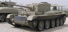 средний танк Cruiser Mk-VIII Cromwell-І
