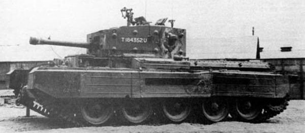средний танк Cruiser Mk-VIII  Cromwell-ІII