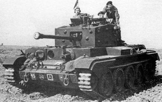средний танк Cruiser Mk-VIII Cromwell-ІV