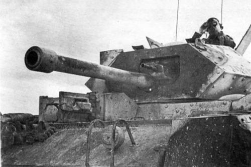 средний танк Crusade-ІII с 6-фунтовой пушкой