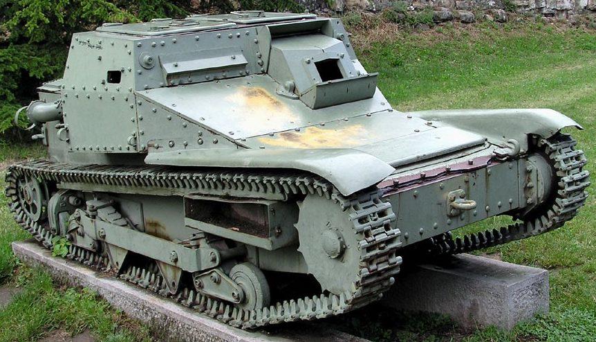 Танкетка CV-33 (L-3/33)