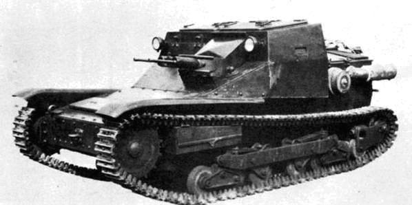 Танкетки  CV-35 (L-3/35)