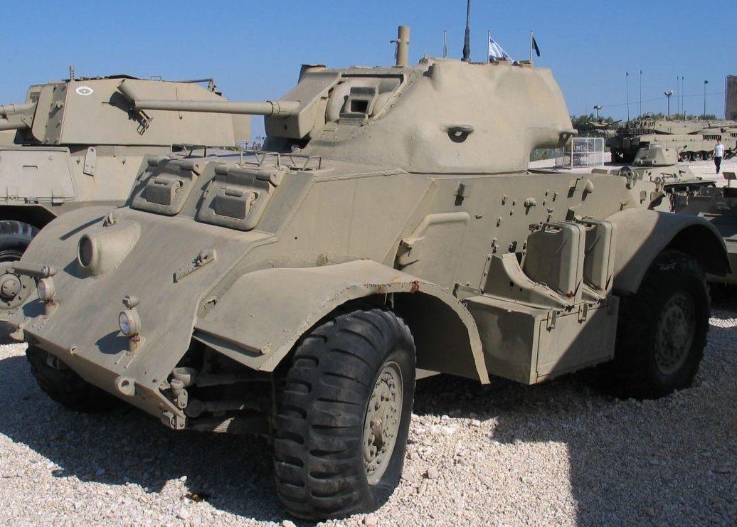 Тяжелый бронеавтомобиль Т-17Е1 Deerhound