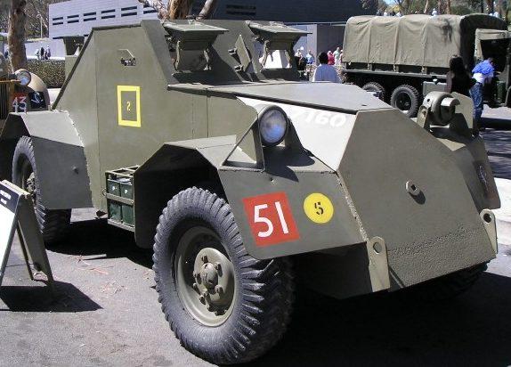 Легкий бронеавтомобиль Dingo Scout car 4x4 1942