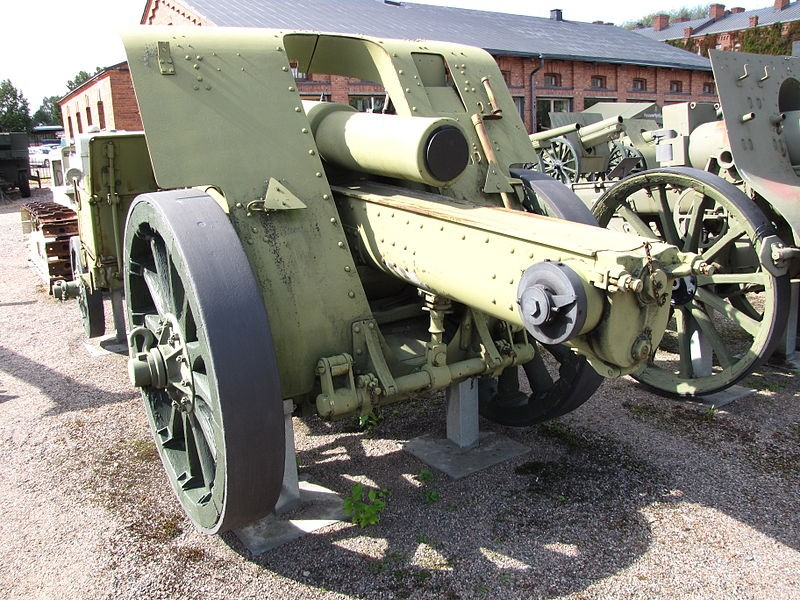 Гаубица 15-сm Schwere Feldhaubitze М-15