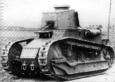легкий танк Fiat 3000А L5/21