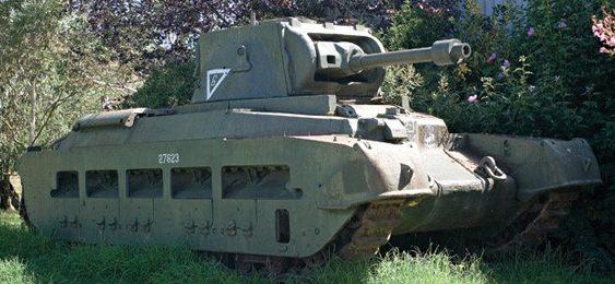 Огнеметный танк «Matilda Frog»