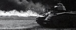 Тяжелый огнеметный танк Flammwagen PzKpfw B-2(f) (Pz.Kpfw.B2 (Flamm)