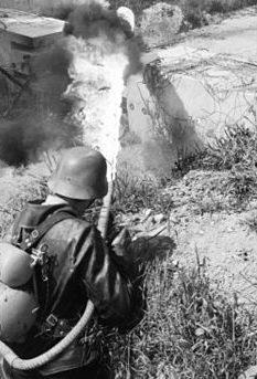 ранцевый огнемет Flammenwerfer 41 (FmW.41)