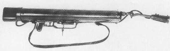 Огнемет Lanciafiamme Mod. 41 d'assalto.