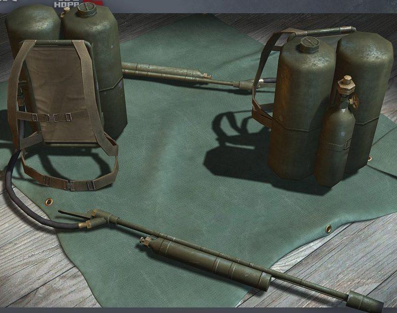 Ранцевый огнемет M-1A1