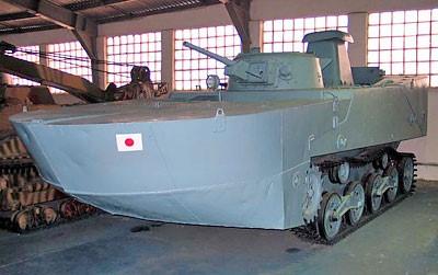 Плавающий танк Ка-Ми