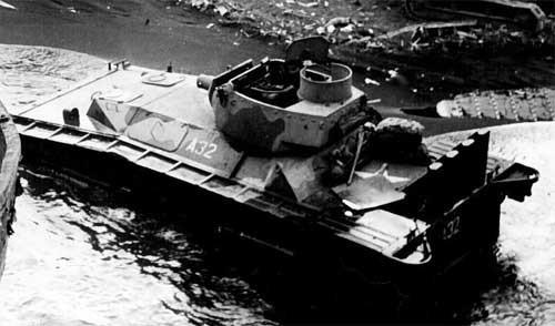 Плавающий танк LVT(A)(4)