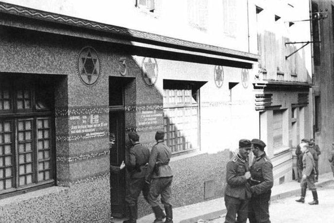 Бордель в здании бывшей синагоге. Франция. 1940 г.