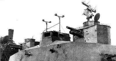 Вооружение броневагона Д-2
