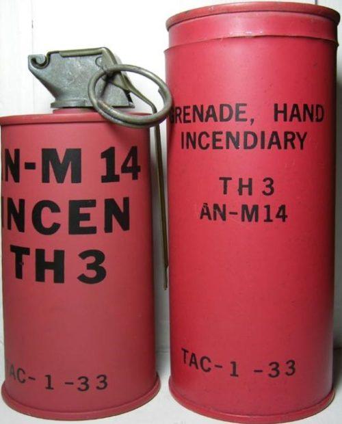 Ручная зажигательная граната M-14 (TH-3)