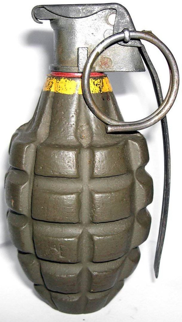 ручная граната  Mk-II HE