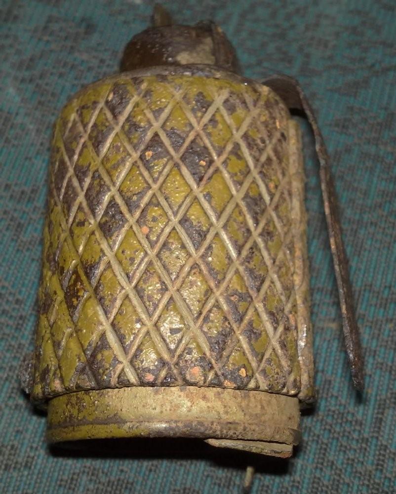 наступательная ручная граната РОГ-43 в оборонительной рубашке