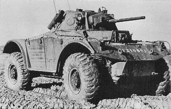 Тяжелый бронеавтомобиль Coventry Armored Car Mk-I (FW-19).