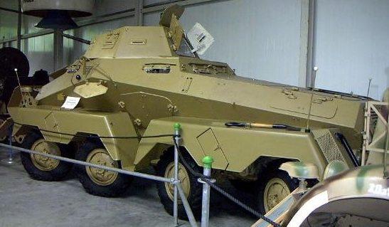 Тяжелый бронеавтомобиль Sd.Kfz.231 (8-Rad).