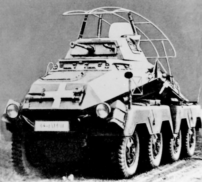 Тяжелый броневик. Sd.Kfz.232 (8-Rad)