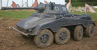 Тяжелый бронеавтомобиль. Sd.Kfz.234/2 Puma