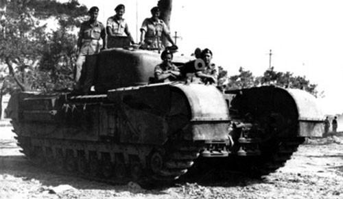 тяжелый танк Churchill-V
