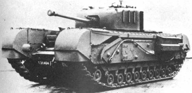 тяжелый танк Churchill-VI