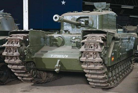 тяжелый танк Churchill-VII