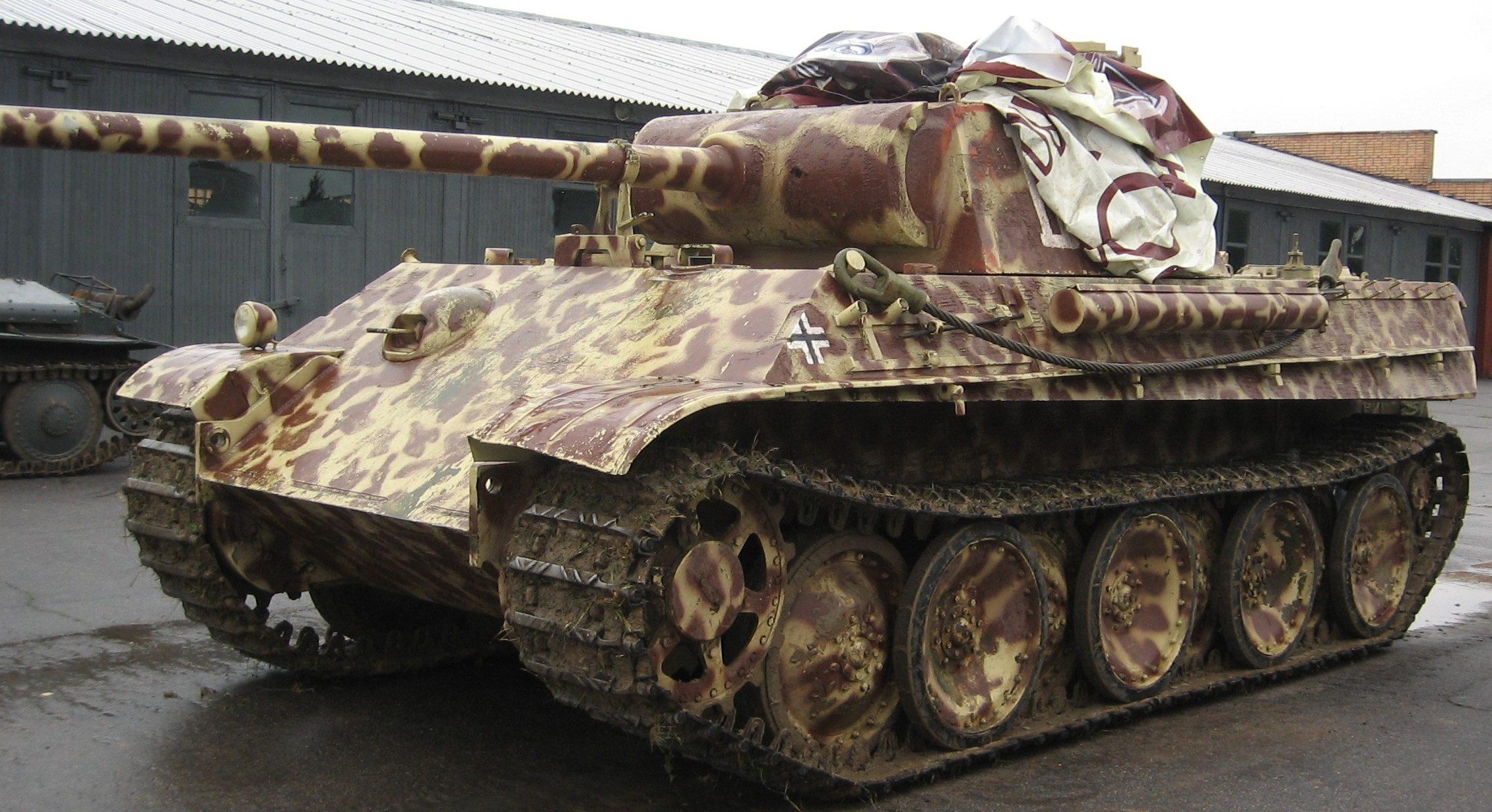 Тяжелый танк Panzerkampfwagen V Panther Ausführung G