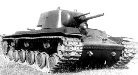 тяжелый танк КВ-1 образца 1940 г.
