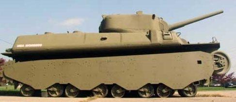 Тяжелый танк М-6