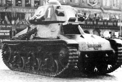 легкий танк Hotchkiss Н-35