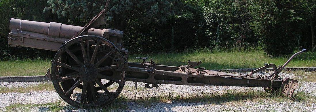 итальянский вариант гаубицы Obice 149/12 modello 14