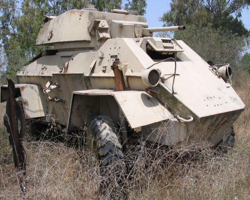 Humber Armoured car. Mk-IV