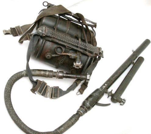 Огнемет Flammenwerfer 41