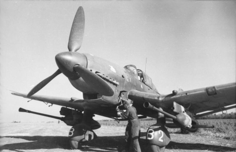 Junkers Ju 87 с авиапушками ВК-3,7 см