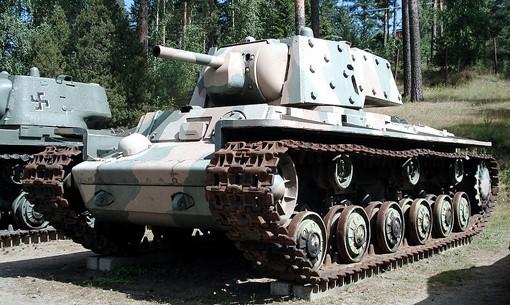 Тяжелый танк КВ-1Е 1941 г.