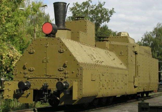 Бронепаровоз бронепоезда «Козьма Минин»