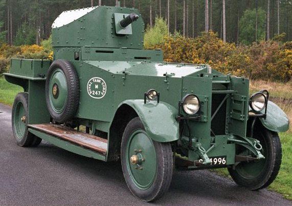Легкий бронеавтомобиль Rolls-Royce Armoured Car