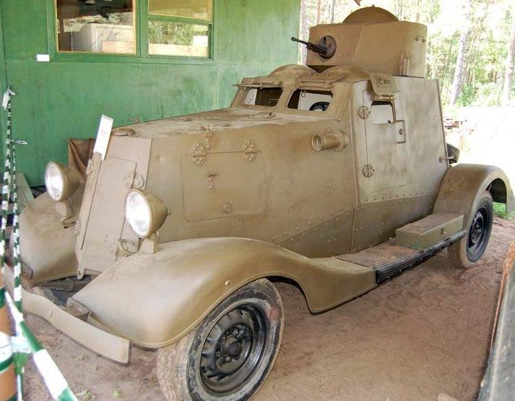 Легкий бронеавтомобиль ФАИ-М