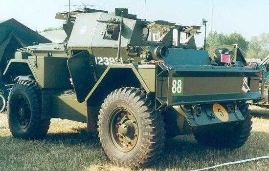 Легкий бронеавтомобиль Lynx