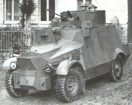 Легкий бронеавтомобиль Morris CS-9