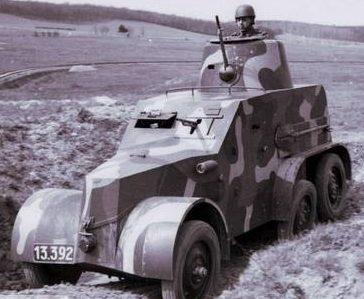 Легкий бронеавтомобиль OA vz.30