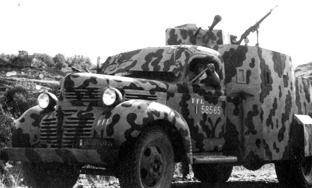 Легкий бронеавтомобиль AM Dodge
