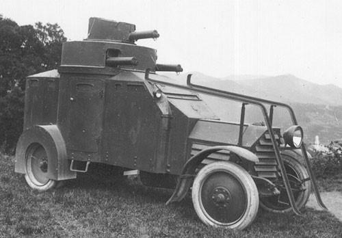 Легкий бронеавтомобиль Lancia IZ