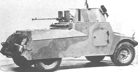 Легкий бронеавтомобиль Morris Light Reconnaissance Car Mk -I