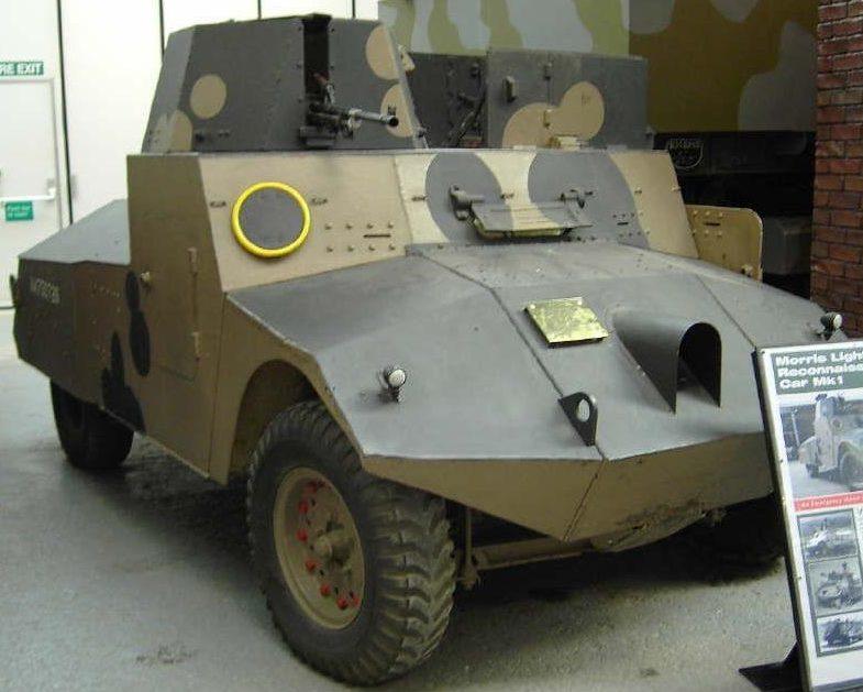 Легкий бронеавтомобиль Morris Light Reconnaissance Car Mk - I
