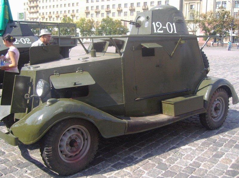 Легкий бронеавтомобиль БА-20А