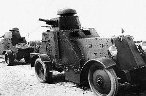 легкий бронеавтомобиль БА-27.